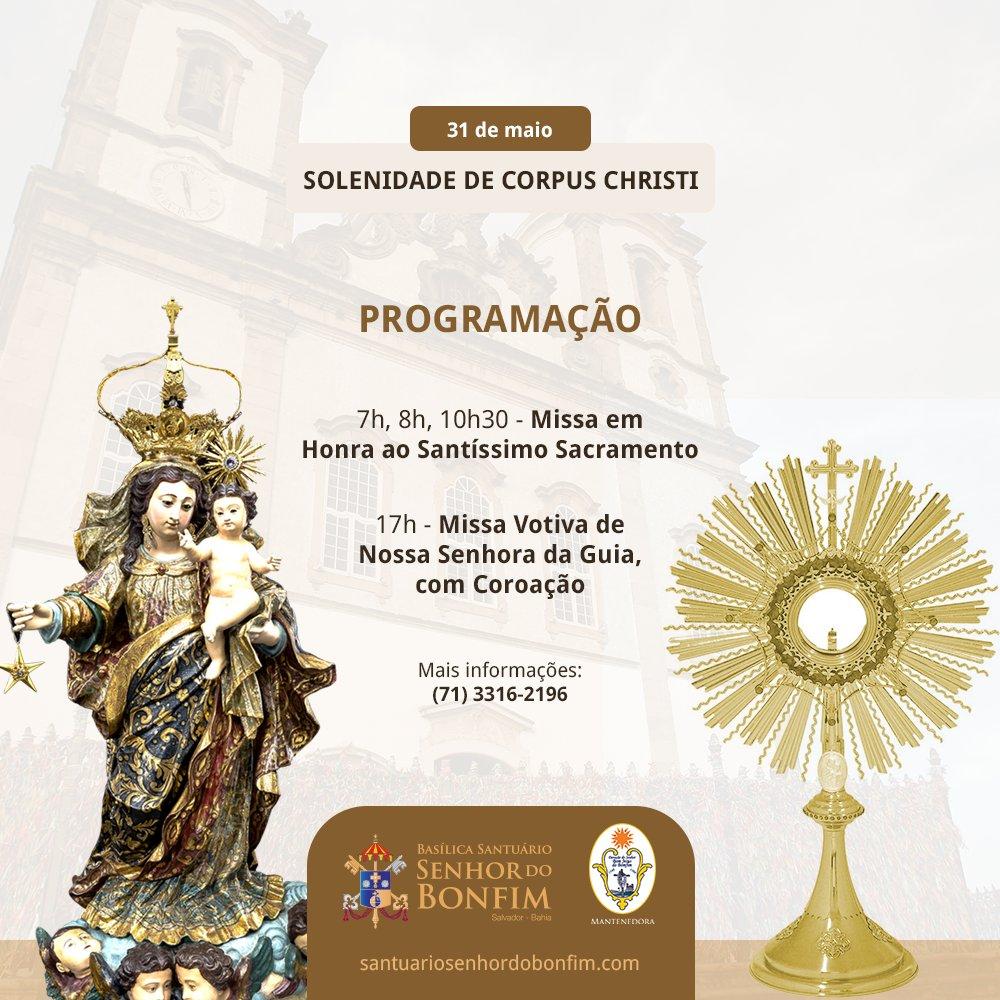 Programação Corpus Christi 2018