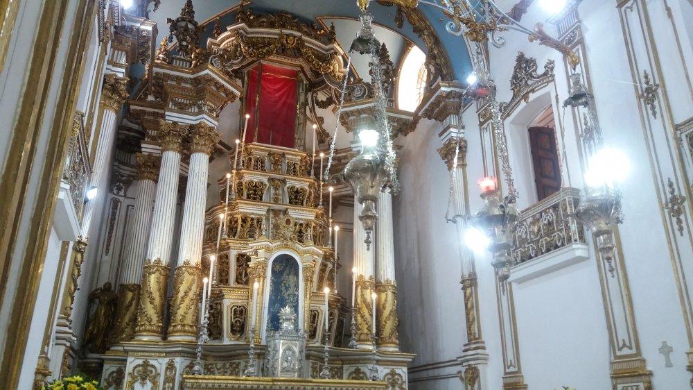 Missa marca entrega da Capela Mor da Basílica do Bonfim