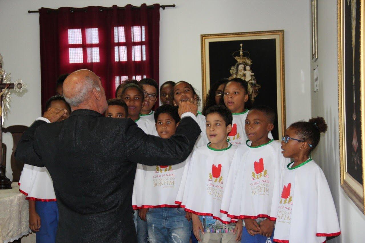 Coral das Crianças do Bonfim realizará apresentação de natal nos dias 20 e 21