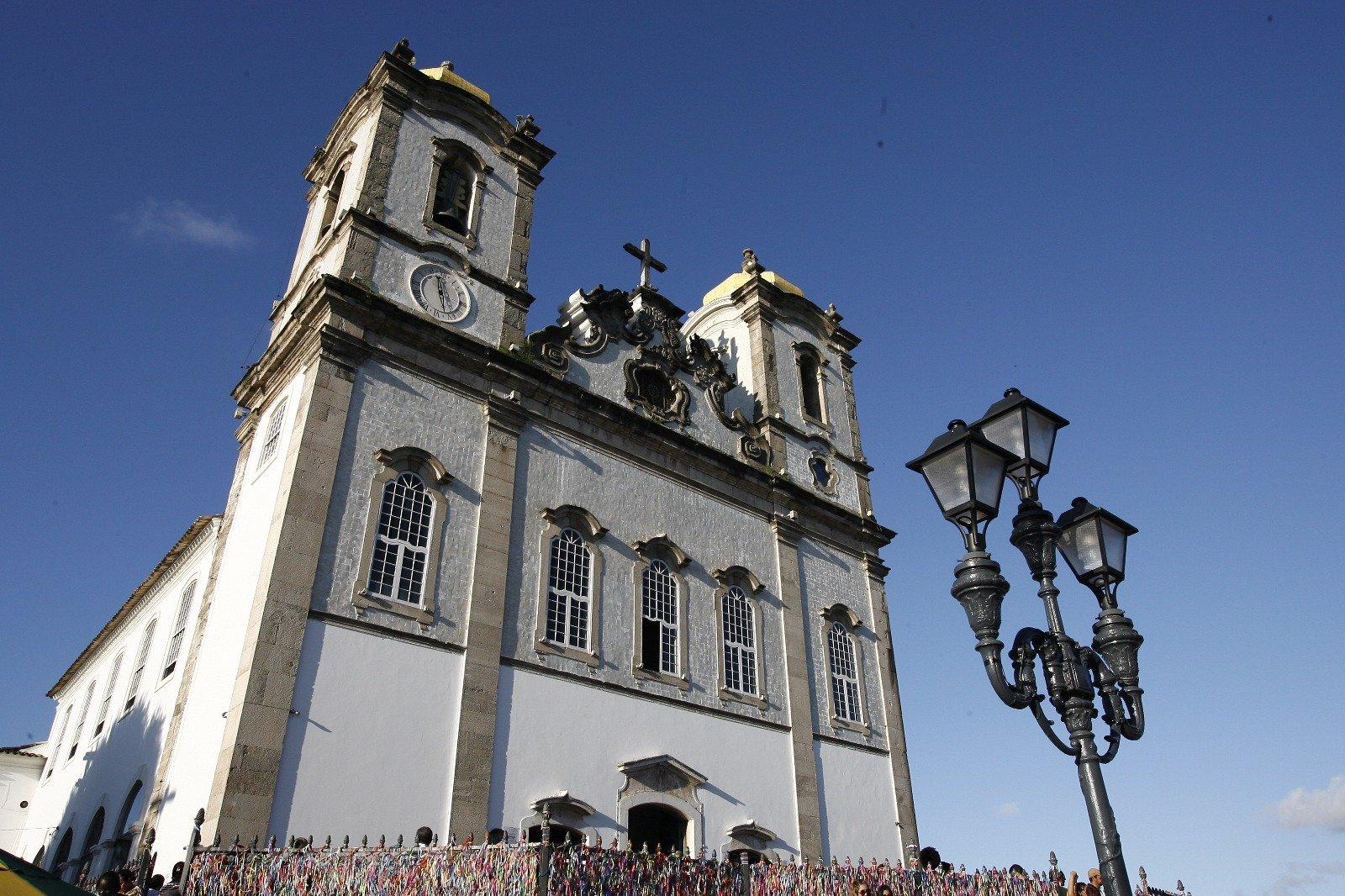 Câmeras de monitoramento reforçam a segurança na Basílica do Bonfim