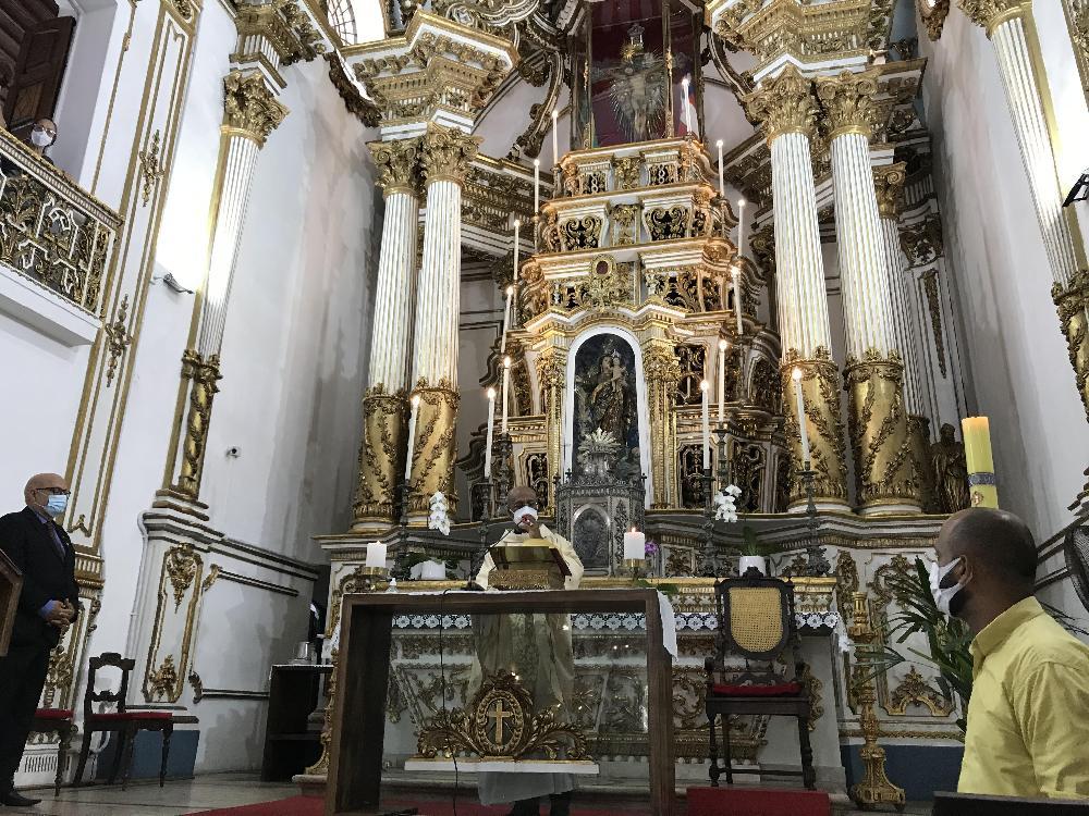 Santa Missa e reinauguração dos sinos da Basílica do Bonfim