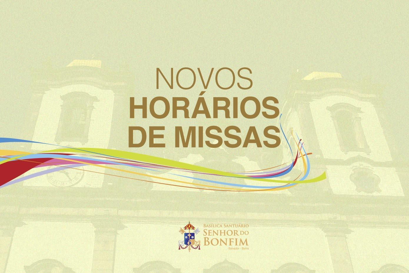 Confira os novos horários de Missas após decreto publicado pela Prefeitura