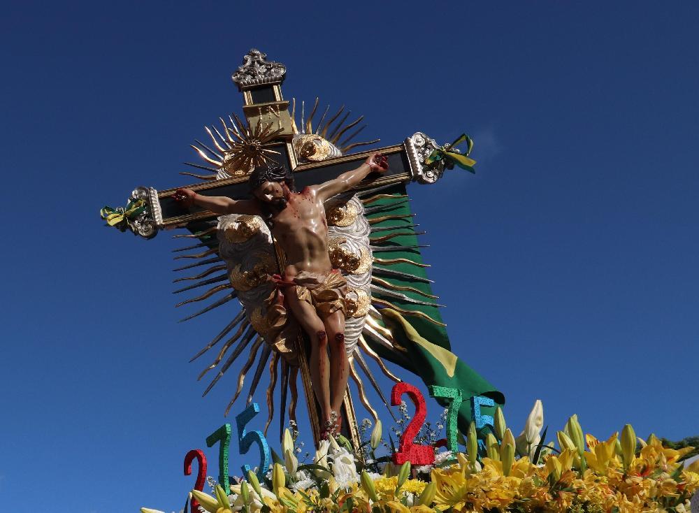 Paróquia Santa Cruz promove carreata com a presença da Imagem Peregrina do Senhor do Bonfim
