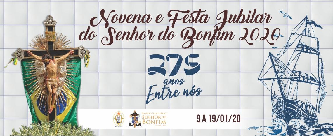 Programação da Festa Jubilar do Senhor do Bonfim inclui gastronomia e cultura