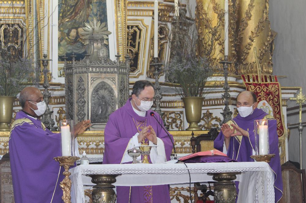 Missa marca encerramento dos 275 anos da chegada da Imagem do Senhor do Bonfim a Salvador